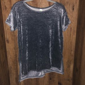 Velvet t shirt
